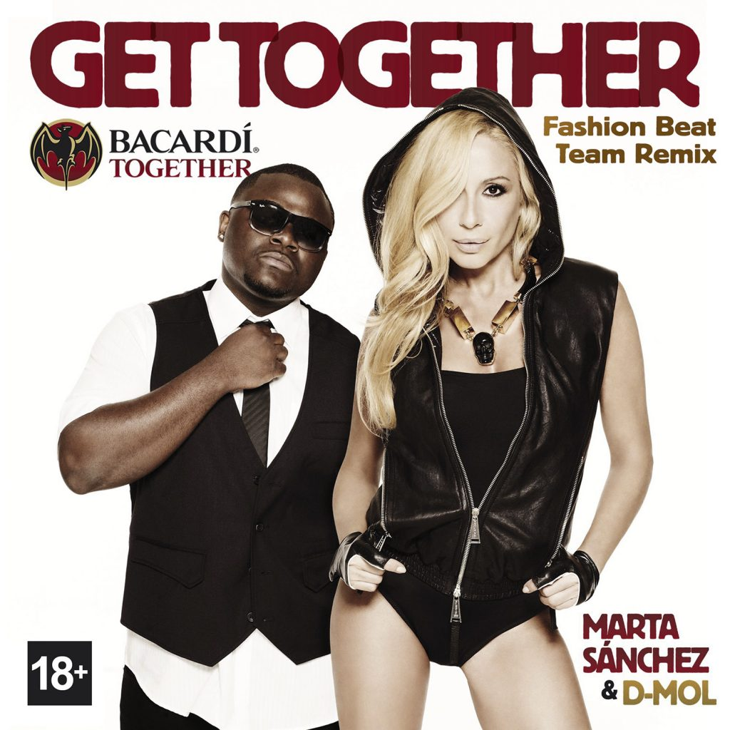 get together fashion beat remix feat. D-Mol marta sánchez